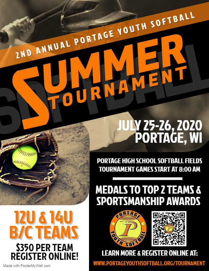 2nd Annual Portage Youth Softball Summer Tournament - Register Now!